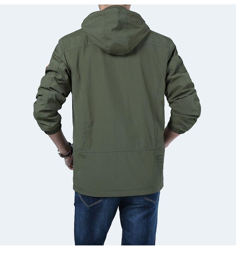 Men Military Army Tactical Softshell Jacket New 2018 Brand Autumn Winter Outerwear Camouflage Jacket Coat Waterproof Windbreaker