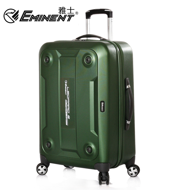 af40e1541 Eminent trolley luggage universal wheels 2013 new arrival embedded lock  travel bag luggage kf04