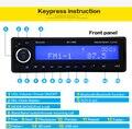 Estéreo rádio do carro jogador do bluetooth aux telefone-in mp3 fm/usb/1 din/controle remoto para iphone 12 v áudio do carro auto 2017 venda nova