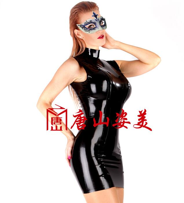 Robe moulante Latex robes exotiques