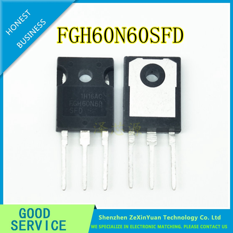 5PCS/LOT FGH60N60SFD FGH60N60 60N60 IGBT 600V 120A 378W TO-247