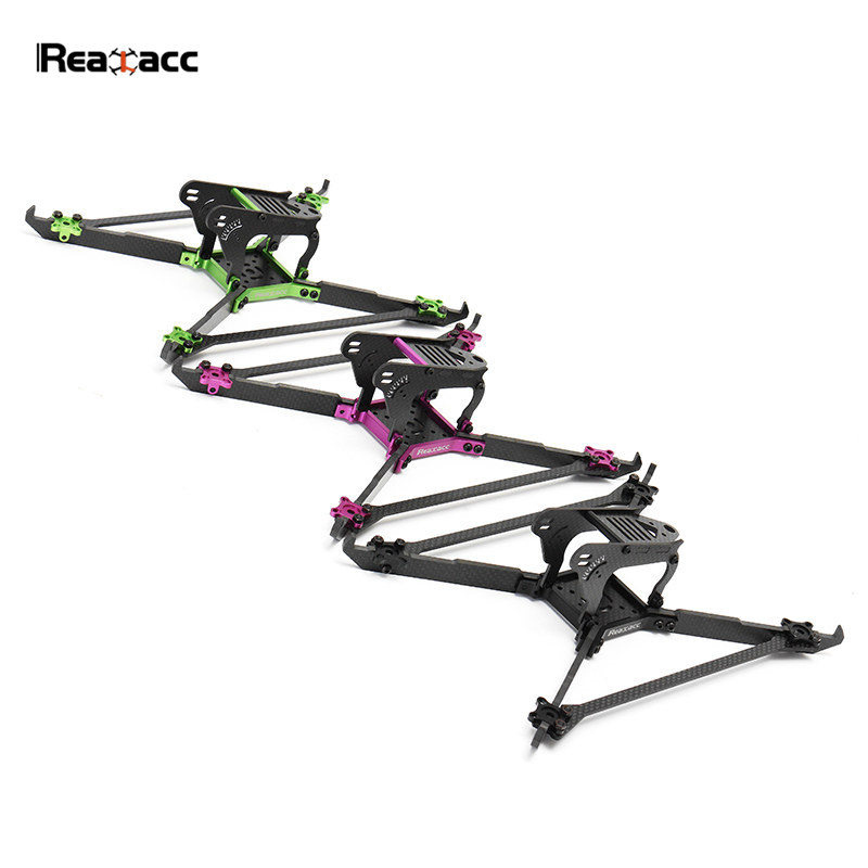 Original Realacc Real1S Stretch 5 Inch 4mm Thickness Vertical Arm CNC Carbon Fiber Frame Kit VS Realacc RealS For RC Quadcopter 1sheet matte surface 3k 100% carbon fiber plate sheet 2mm thickness