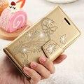 Для Galaxy J5 2016 Бумажник Case Бабочка Цветок Алмазный Кожаный Чехол для Samsung Galaxy J5 J510 J510F S7 Край S6 А5 2016 Fundas