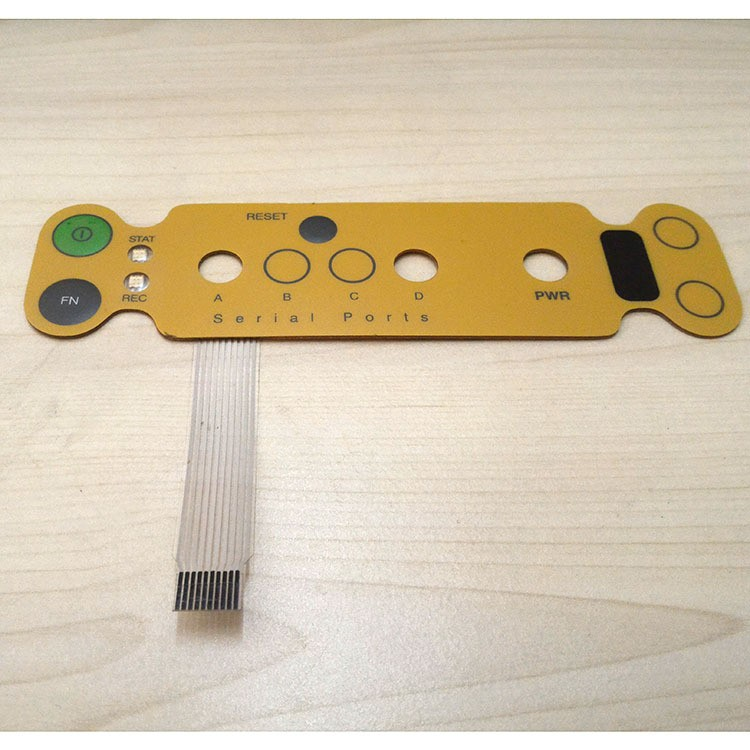 Replacement for Topcon Hiper Front Panel with Membrane Circuit with one flat cableReplacement for Topcon Hiper Front Panel with Membrane Circuit with one flat cable