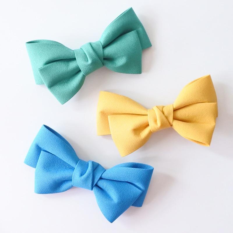 Сплошной Цвет Бутик Заколки Для Волос - Аксессуары для одежды - Фотография 3