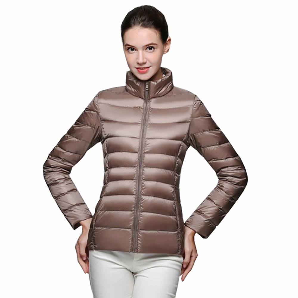 Tengo Winter Quality Brand Female 90% White Duck   Down   Parka Jacket Women Ultra Light   Down   Jacket Spring   Coat   Ladies Parka   coats