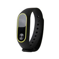 Replacement Silica Gel Wristband Band Strap For Xiaomi Mi Band 2 Bracelet drop shipping 0705
