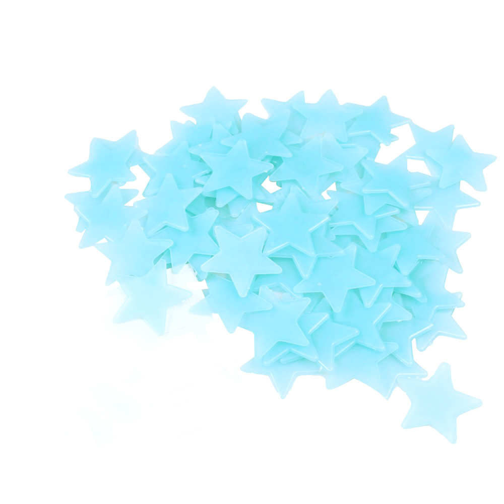 100pcs-lot-Glow-Wall-Stickers-Decal-Baby-Kids-Bedroom-Home-Decor-Color-Stars-Luminous-Fluorescent-4colors3