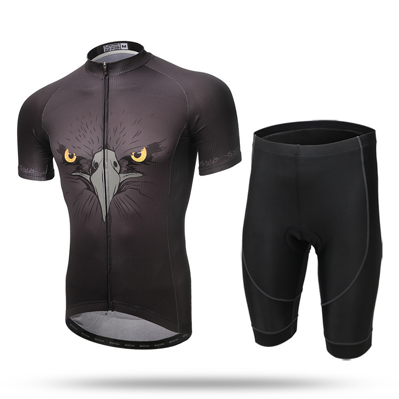 XINTOWN Cycling Clothing Cycling Sets Bike Clothing Breathable Men Bicycle Wear Spring Summer Short Sleeve Cycling Jerseys Sets 2017 cool men short sleeve cycling sets spider jerseys summer mtb bike sports shirt cycle bicycle clothing full zippered