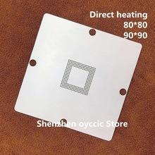 مباشرة التدفئة 80*80 90*90 6417751R HD6417751RBP240V بغا استنسل قالب