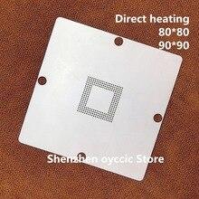 Riscaldamento diretto 80*80 90*90 6417751R HD6417751RBP240V BGA Stencil Template