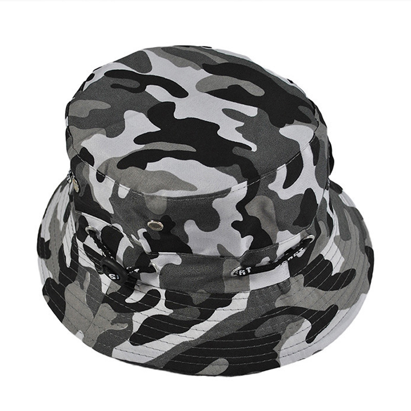 8b87d7974bc7b Military Hats Men s Fishing caps Tourism Holiday Parasol Camouflage  Breathable Hat Jungle Camouflage cap Free Shipping sale-in Military Hats  from Apparel ...