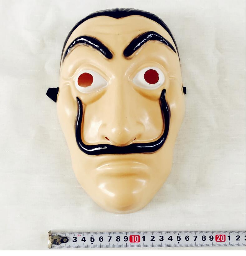"Hot "" La Casa De Papel"" Face Mask ""Salvador Dali"" Cosplay Movie Mask Realistic Party Halloween Mask"