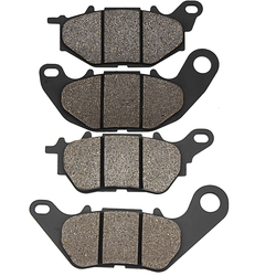 Cyleto Motorcycle Front and Rear Brake Pads for YAMAHA YZF R3 321 cc 2015-2016 MTN320 MTN 320 2015-2018 MT-03 MT03 2016