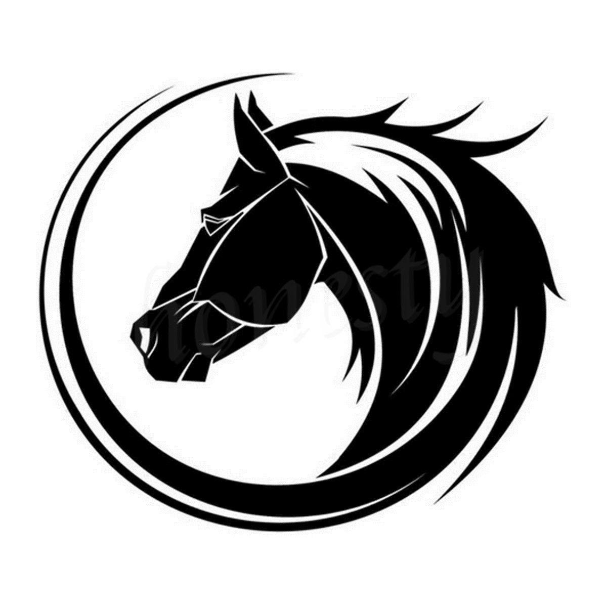 Popular horse auto decals buy cheap horse auto decals lots for Vinyl window designs ltd complaints