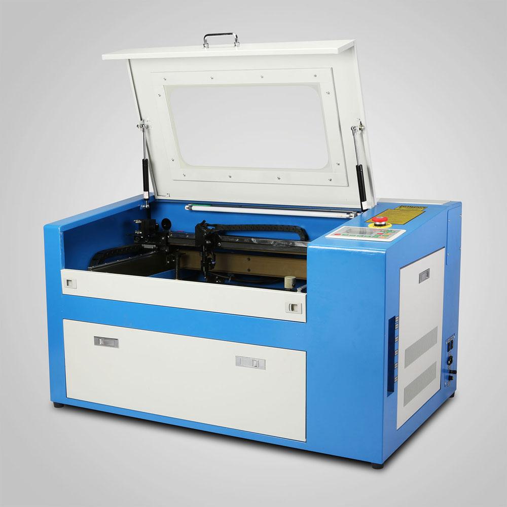 High Precise 50W CO2 Laser Engraving Cutting Machine Engraver Cutter USB Port/CE