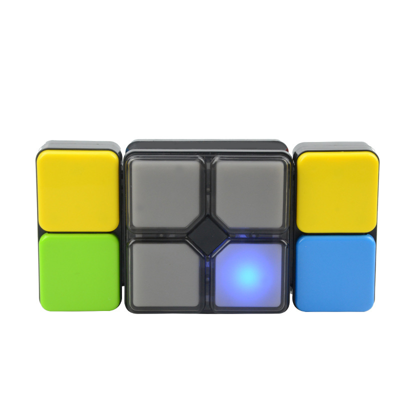 Music Magic Cube Jigsaw Creative Cube Game Light Music Variety Electronics Cube Infinity Toy for Kids Children Gift