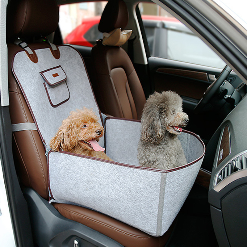 Dog Car Seat Cover Waterproof Puppy Pet Carrying Dog Bench