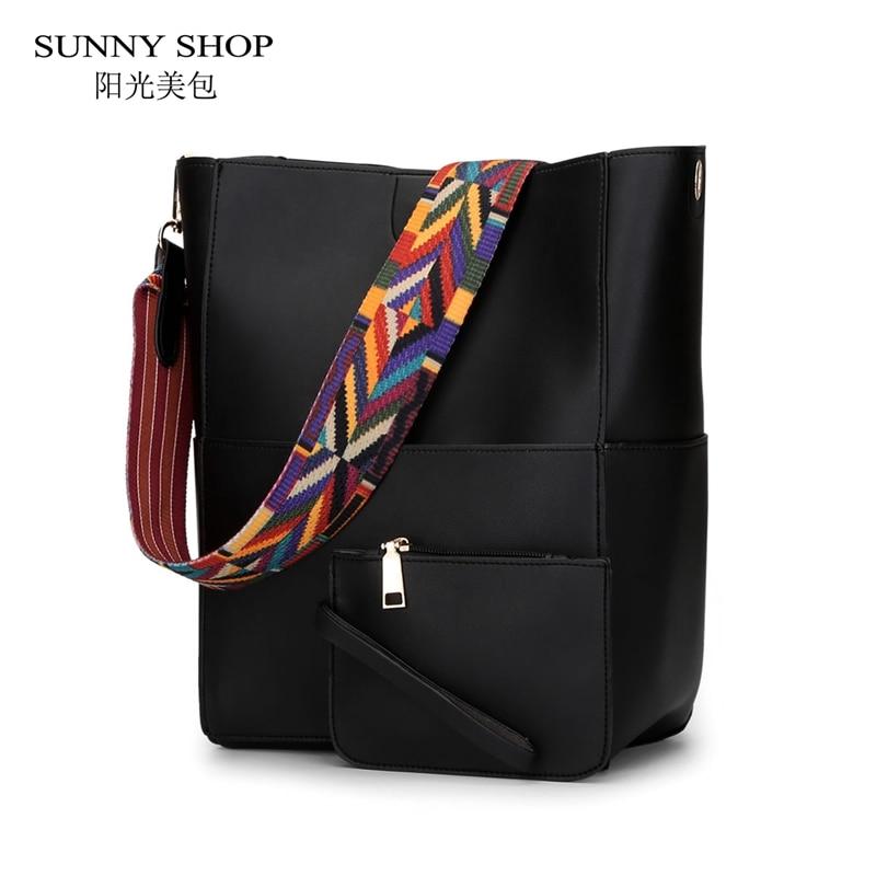 SUNNY SHOP  Autumn New Women Elegant Shoulder Bags Fashion Women Messenger Bags Purses And Handbags High Quality