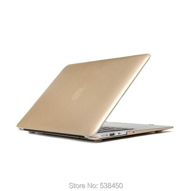 Бесплатная доставка шампанское жесткий чехол для Macbook Air 11 13 / Pro 13 15 + сетчатки