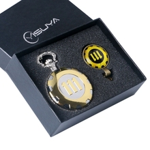Fashion Game Fallout 4 Vault 111  Pocket Watch with 111 Theme Glass Dome Pendant Necklace Pocket Clock Best Gift Sets Box Chain