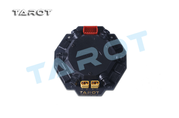 TAROT 6-axis 8-axis 6 in 1 8 in 1 ESC signal power integrated board hub FOR X6 X8 OCTA copter drone octocopter TL6X002 TL8X018 100a multicopter multi quad copter power battery to 16 esc connection board