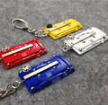 Car Famous Brand Biker Engine Valve Cover Keychain Keyring twin cam 18 valve Key chain For car styling Key ring