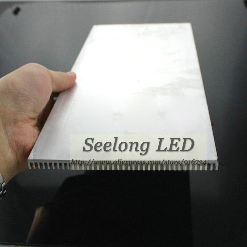 Freeshipping 300mm led aluminium heat sink 300x127x8mm aluminum radiator DIY aquarium light power transistor - Seelong LED store