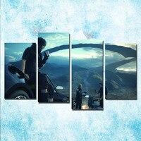 4 Stücke Final Fantasy XV Kunst Poster Leinwand Druck 24x36 zoll Video Spiel Wand Bilder Hause Raumdekoration-1