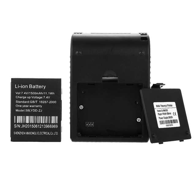 New Arrival ZJ – 5805 58mm Bluetooth 4.0 Android 4.0 POS Receipt Thermal Printer Bill Machine For Supermarket EU / US / UK PLUG