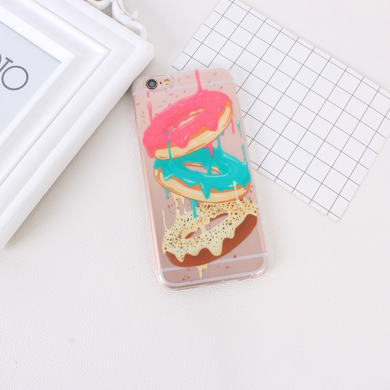 Fashion TPU Printing Pattern Phone Case For iPhone 5S 6S 7 6 6S 4S 4 5 5C (6)
