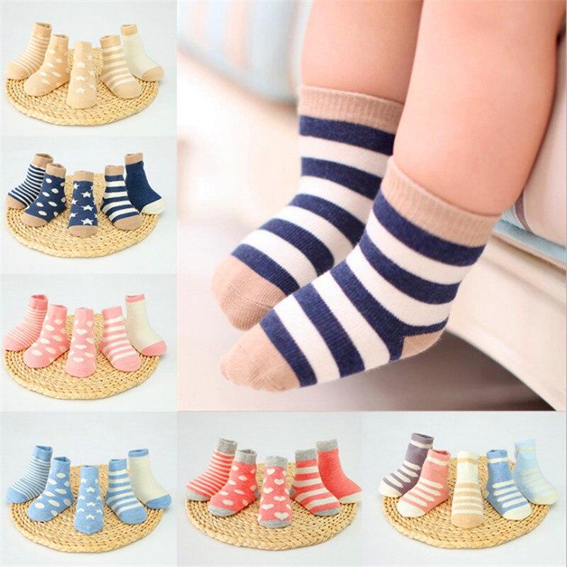 Spring children's socks cotton men and women comfortable soft tube cotton socks 0-3 years old baby socks wholesale цены