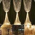 Luzes Da Cortina LEVOU pés * pés 304 LEDs de Natal Luzes Da Corda para Casa, jardim, feriado, Partido, casamentos, Decorações de natal
