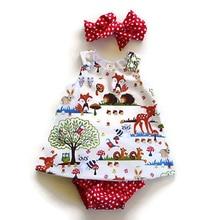 3PCS Infant Toddler Kids Baby Girl Clothes Set Sleeveless Blouse Top Dress Polka Dot Short Pants Bow Headband Outfits Set