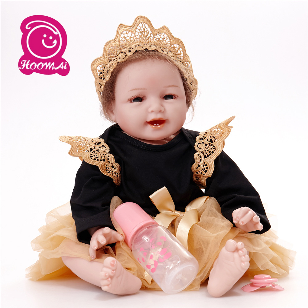 new educational style toy 55cm Reborn Boneca Realistic Baby Princess Dolls For Children Birthday Giftnew educational style toy 55cm Reborn Boneca Realistic Baby Princess Dolls For Children Birthday Gift