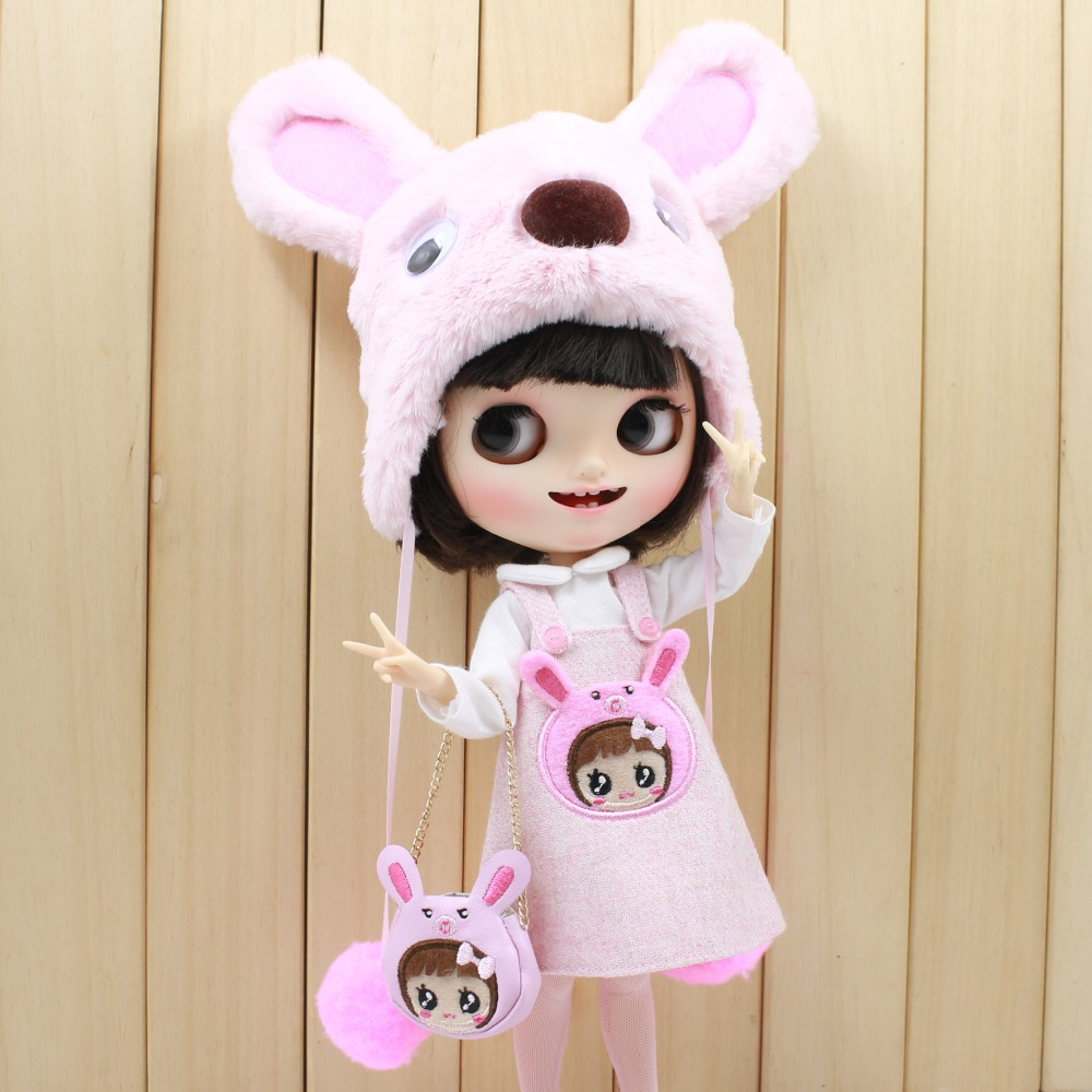 Neo Blythe Doll Bear Suit with Full Set 3