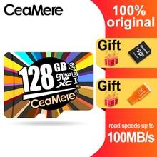 CeaMere Micro SD Card  Class10 UHS-1 8GB Class6 16GB/32GB U1 64GB/128GB/256GB U3 Memory Flash Microsd for Smartphone