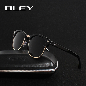 OLEY brands Unisex Classic Sunglasses men women polarized Retro Sun Glasses coating lens candy women goggles Oculos gafas Y3016 6