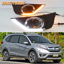 For Honda BRV No-error Daytime Running Light LED DRL Fog Lamp Driving Lamp Car Styling