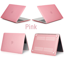 SDYGHHT CrystalMatte Transparent case For Apple macbook Air Pro Retina 11 12 13 15 for mac book Air 13 case cover