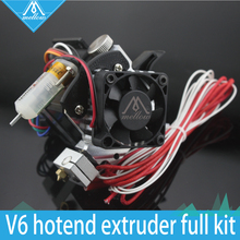 Free shipping 3D printer parts Titan Aero V6 hotend extruder full kit +3D Touch kit for Desktop FDM reprap mk8  i3