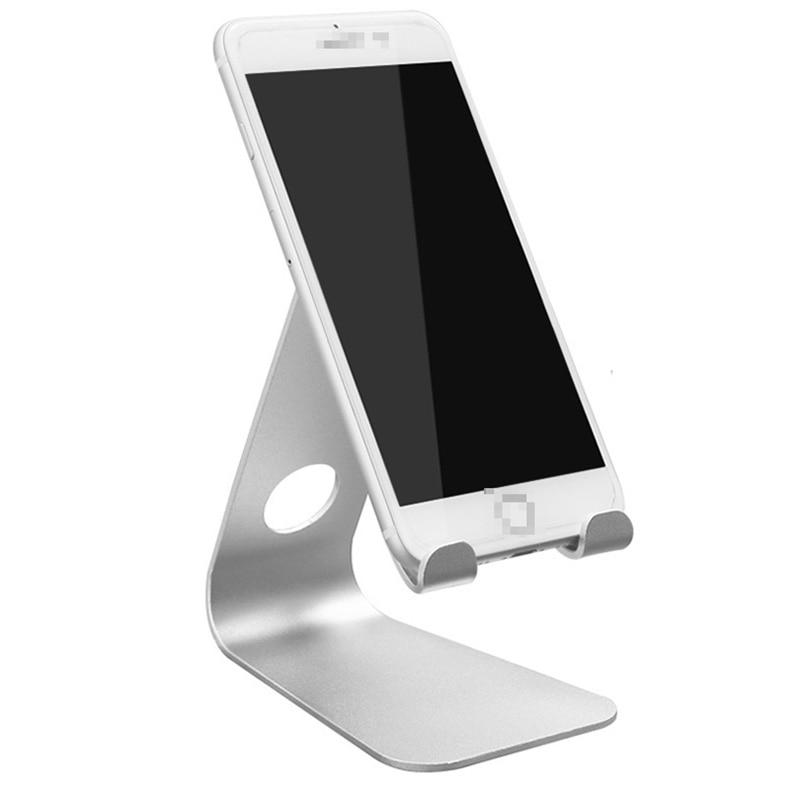 bilder für Universelle Komfortable Aluminiumlegierung handy desktop-ständer halter für Beobachten mobile video und filme für iphone 6/6 s/7