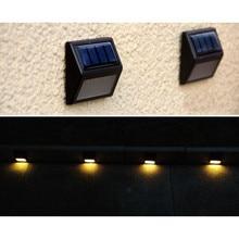 LED Solar Power PIR Motion Sensor Wall Light Outdoor Waterproof Garden Energy