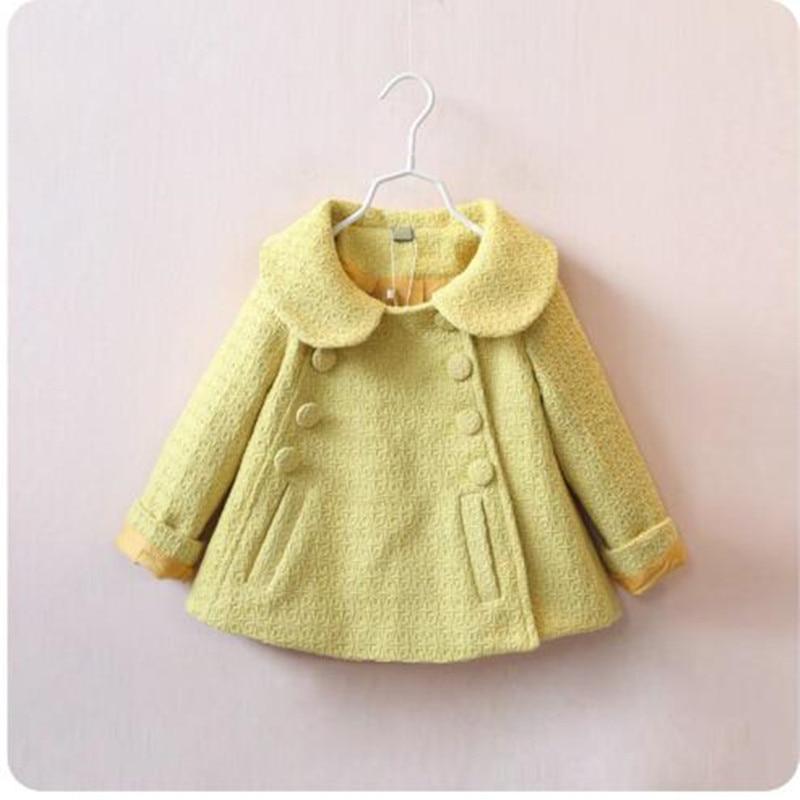 2018 New Fashion Kids Coat Autumn Spring baby girl clothes Autumn girls tops Children Clothing girls jacket
