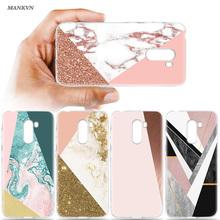 Luxury Marble Stone Print Case for Xiaomi Mi A2 8 Lite Poco Pocophone F1 Silicone Cover for Redmi Note 6 5 Pro Soft Back Shell