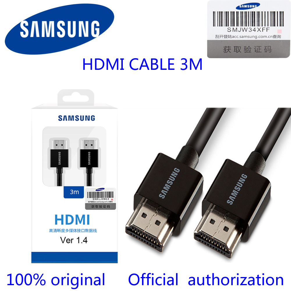 Samsung HDMI line optical fiber to TV set, high definition line, double head, 4K connect ...