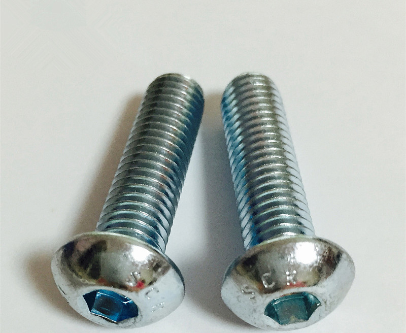 DIN738 10.9 Galvanized Semi-round Head Round Head Socket Head Cap Screws <font><b>M5</b></font>* 6/8/10/12 ....... <font><b>50mm</b></font> image