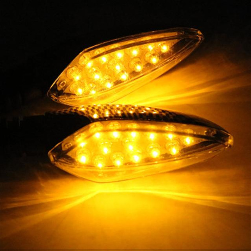 High Quality   1 pair of Universal LED Motorcycle Turn Signal Indicators Lights/lamp high quality 1 pair right
