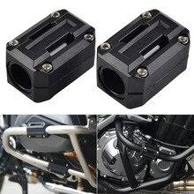 Мотоциклетный защитный кожух двигателя бампер Декор блок для Benelli TRK 502& для Triumph 900 уличный двойной Крушение Бар Бампер