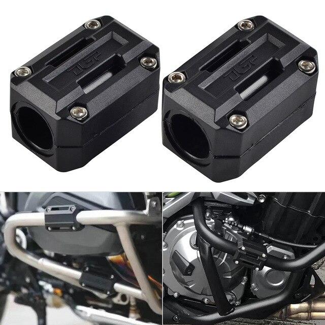 Motor de la motocicleta de la protección guardia parachoques decoración de bloque para Benelli TRK 502 y para el triunfo de la calle 900 doble barra de choque parachoques guardia